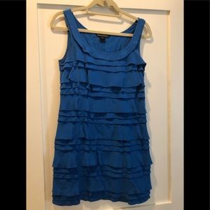 Royal Blue French Connection Dress